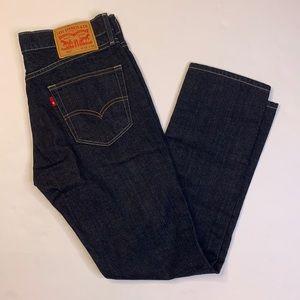 LN Levi Levi's 511 slim Midnight wash jeans 33x30